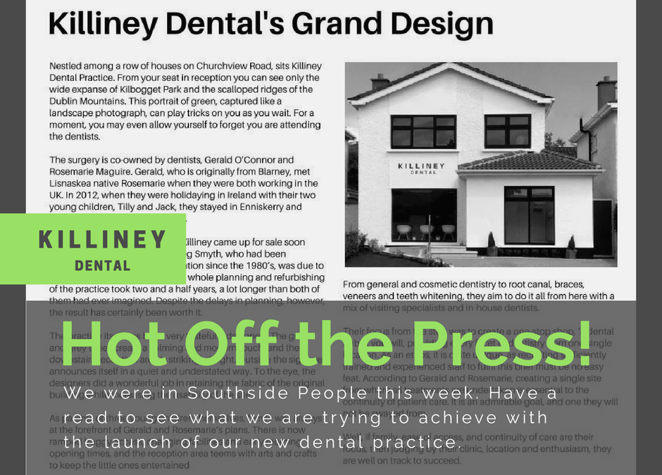 Killiney Dental's Grand Design