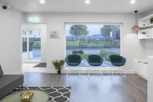Reception of Killiney Dental Clinic, Dublin