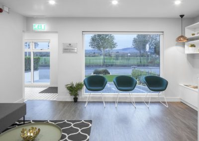Reception of Killiney Dental Clinic, Dublin